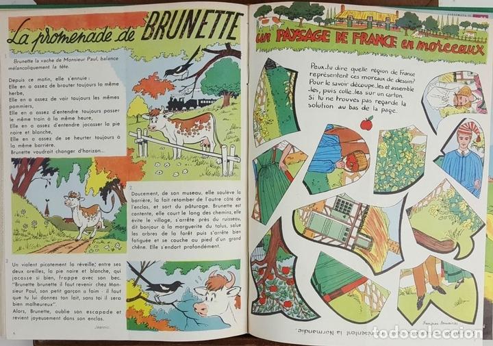 Cómics: PERLIN ET PINPIN. COLECCION DE 50 NÚMEROS. EDIT. COEURS VAILLANTS. 1962/1963. - Foto 9 - 128513303
