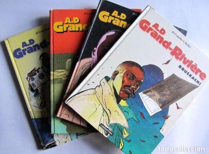 A.D GRAND-RIVIÈRE TOMES 1, 2, 3, 4 CASTERMAN. VER TÍTULOS EN FOTOS. (Tebeos y Comics - Comics Lengua Extranjera - Comics Europeos)