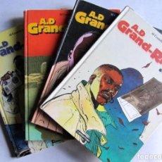 Cómics: A.D GRAND-RIVIÈRE TOMES 1, 2, 3, 4 CASTERMAN. VER TÍTULOS EN FOTOS.. Lote 128575699
