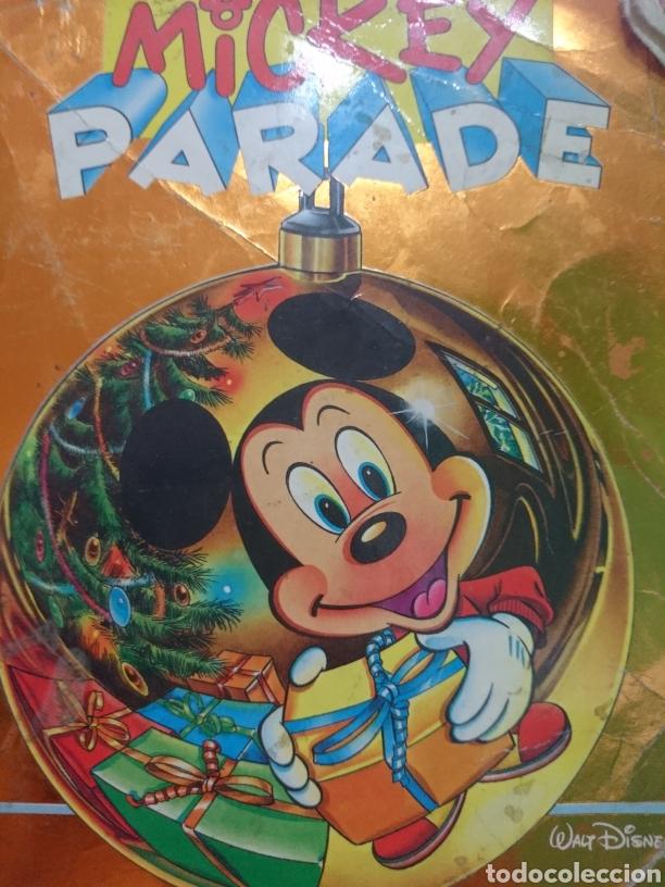 Image De Noel Walt Disney.Mickey Parade Joyeux Walt Disney Noel Numero 144