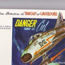 Cómics: TANGUY ET LAVERDURE - LOTE TOMOS 3, 4, 7, 11, 13, 14, 15, 18 - ED. DARGAUD - EN FRANCES - MBE. Lote 128989675