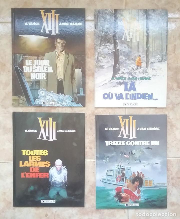 XIII - LOTE TOMOS 1, 2, 3, 8 EO, 9, 10 EO, 13, 15 EO - ED. DARGAUD - EN FRANCES - MBE (Tebeos y Comics - Comics Lengua Extranjera - Comics Europeos)
