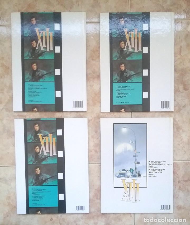 Cómics: XIII - LOTE TOMOS 1, 2, 3, 8 EO, 9, 10 EO, 13, 15 EO - ED. DARGAUD - EN FRANCES - MBE - Foto 2 - 128991963