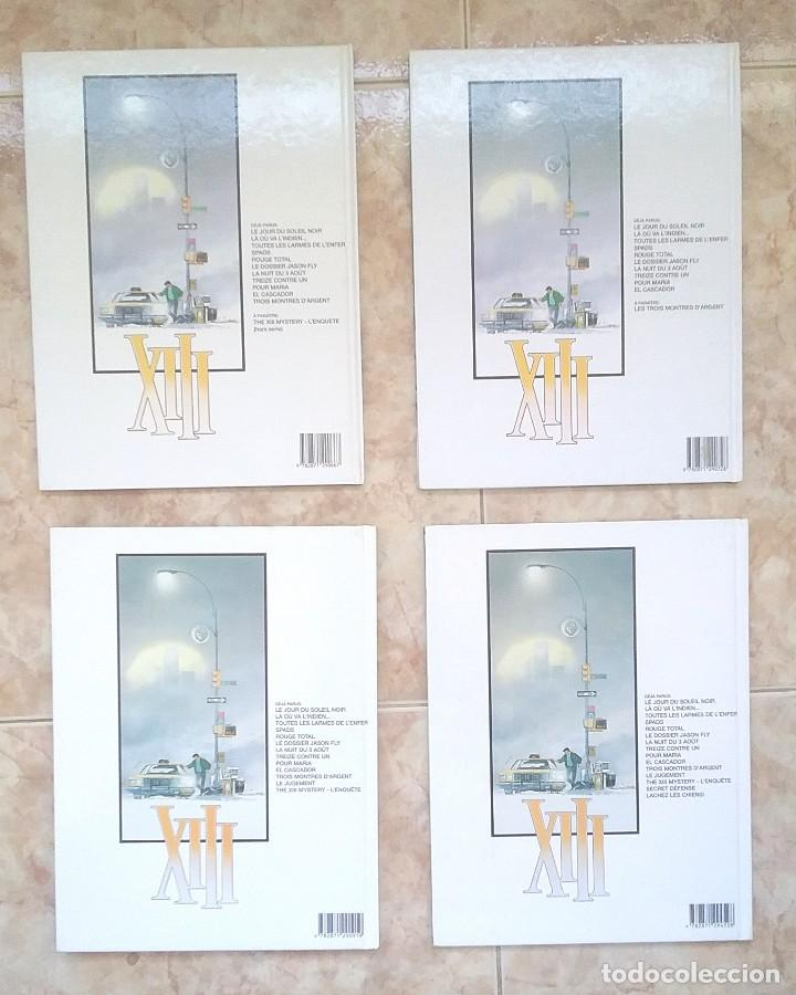 Cómics: XIII - LOTE TOMOS 1, 2, 3, 8 EO, 9, 10 EO, 13, 15 EO - ED. DARGAUD - EN FRANCES - MBE - Foto 4 - 128991963