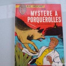 Cómics: RIC HOCHET - MYSTERE A PORQUEROLLES - TIBET & DUCHATEAU - CARTONE - EN FRANCES. Lote 129037863