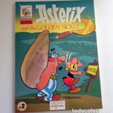 Cómics: ASTERIX AND THE GOLDEN SICKLE - CÓMIC EN INGLÉS LA HOZ DE ORO - EDICIONES DELPRADO - GOSCINNY UDERZO. Lote 129378423