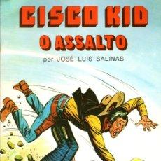 Cómics: CISCO KID. O ASSALTO POR JOSE LUIS SALINAS. Nº 7. COLECÇÃO COMIX. PORTUGAL PRESS, 1976. PORTUGUES. Lote 130404604