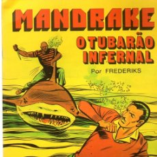 Cómics: MANDRAKE. O TUBARÃO INFERNAL POR FREDERIKS. Nº 6. COLECÇÃO COMIX. PORTUGAL PRESS, 1976. PORTUGUES. Lote 130404756