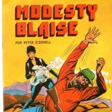 Cómics: MODESTY BLAISE POR PETER O'DONELL. ALARME NA CIDADE. Nº 9. COLECÇÃO COMIX. PORTUGAL PRESS, 1976. Lote 130404887