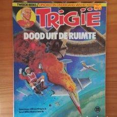 Cómics: TRIGIE 23 DOOD UIT DE RUIMTE, OLIVER FREY MIKE BUTTERWORTH. IMPERIO TRIGAN COMIC EN NEERLANDES. Lote 130472490