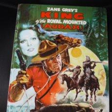 Cómics: ZANE GREY'S KING OF THE ROYAL MOUNTED (AUDAX). 1939-1941. EDIZIONI CAMILLO CONTI. N. 109. AÑO 1977.. Lote 131168305