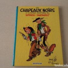 Cómics: LES CHAPEAUX NOIRS ET 3 AUTRES AVENTURES - SPIROU ET FANTASIO Nº 3 - AÑO 1966 - JIJÉ / FRANQUIN. Lote 132009018