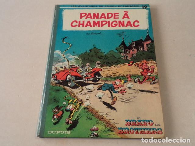 PANADE À CHAMPIGNAC - SPIROU ET FANTASIO Nº 19 - AÑO 1969 - FRANQUIN (Tebeos y Comics - Comics Lengua Extranjera - Comics Europeos)