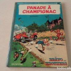 Cómics: PANADE À CHAMPIGNAC - SPIROU ET FANTASIO Nº 19 - AÑO 1969 - FRANQUIN. Lote 132009486