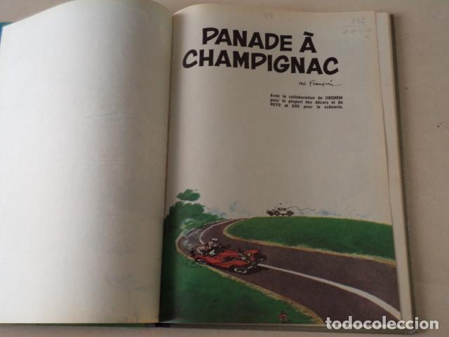 Cómics: PANADE À CHAMPIGNAC - SPIROU ET FANTASIO Nº 19 - AÑO 1969 - FRANQUIN - Foto 4 - 132009486