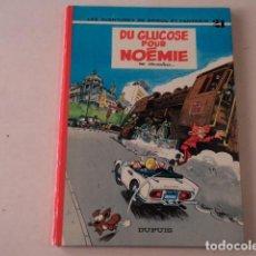 Cómics: DU GLUCOSE POUR NOÉMIE - SPIROU ET FANTASIO Nº 21 - AÑO 1971- FOURNIER. Lote 132009754
