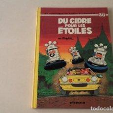 Cómics: DU CIDRE POUR LES ÉTOILES - SPIROU ET FANTASIO Nº 26 - AÑO 1975- FOURNIER. Lote 132010894