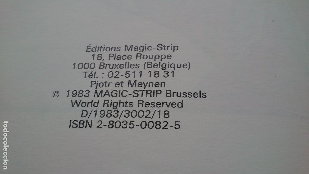 Cómics: LES AVENTURES DE TOMMY GUN & MARION LEE - PJOTR & MEYNEN - MAGIC STRIP - 1983 - BÉLGICA - NUEVO - Foto 3 - 132024482