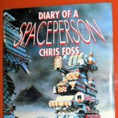 Cómics: LIBRO BOOK DIARY OF A SPACEPERSON CHRIS FOSS - PAPER TIGER - EN INGLES - AÑO 1990 - COMIC ANTIGUO. Lote 271596508