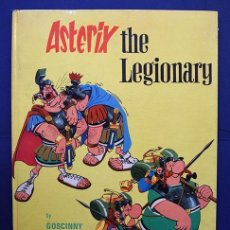 Cómics: ASTERIX THE LEGIONARY, GOSCINNY UDERZO -BROCKHAMPTON PRESS, 1971 FIRST UK EDITION, SECOND IMPRESSION. Lote 132251966