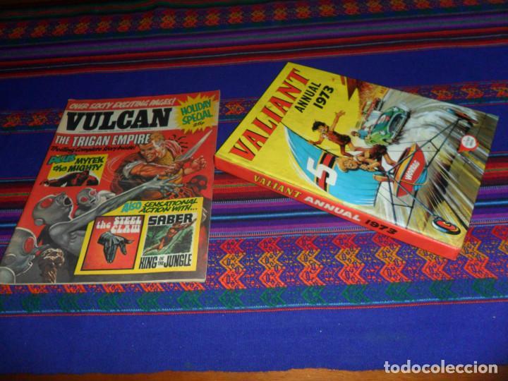 VALIANT ANNUAL 1973 FLEETWAY HERMANOS WILD MYTEK ZARPA ACERO, VULCAN HOLIDAY SPECIAL IMPERIO TRIGAN. (Tebeos y Comics - Comics Lengua Extranjera - Comics Europeos)