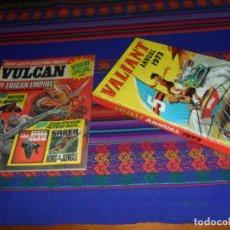 Cómics: VALIANT ANNUAL 1973 FLEETWAY HERMANOS WILD MYTEK ZARPA ACERO, VULCAN HOLIDAY SPECIAL IMPERIO TRIGAN.. Lote 134297694