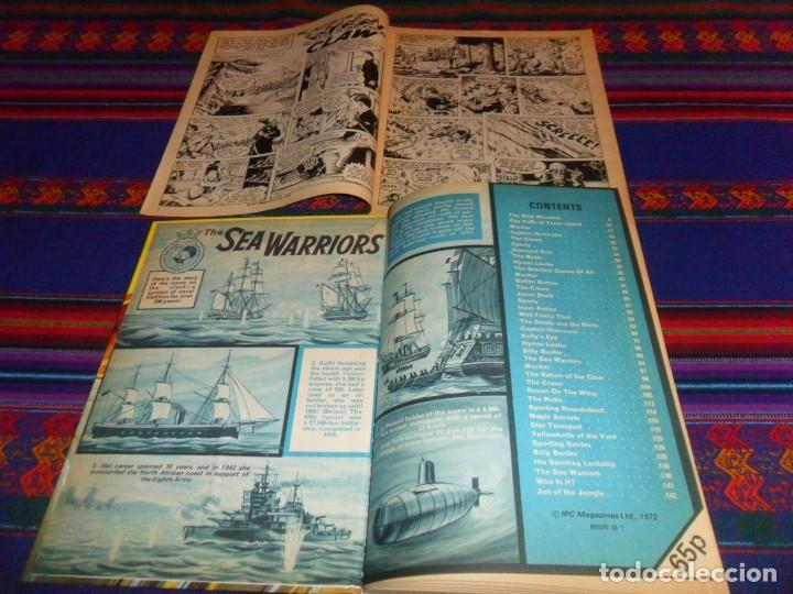 Cómics: VALIANT ANNUAL 1973 FLEETWAY HERMANOS WILD MYTEK ZARPA ACERO, VULCAN HOLIDAY SPECIAL IMPERIO TRIGAN. - Foto 2 - 134297694