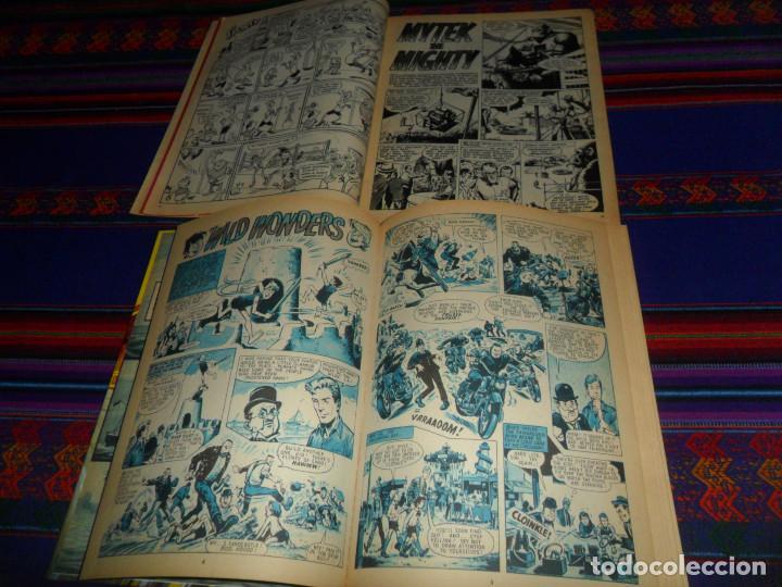 Cómics: VALIANT ANNUAL 1973 FLEETWAY HERMANOS WILD MYTEK ZARPA ACERO, VULCAN HOLIDAY SPECIAL IMPERIO TRIGAN. - Foto 3 - 134297694