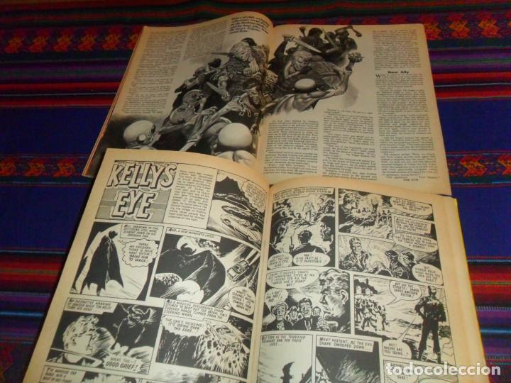 Cómics: VALIANT ANNUAL 1973 FLEETWAY HERMANOS WILD MYTEK ZARPA ACERO, VULCAN HOLIDAY SPECIAL IMPERIO TRIGAN. - Foto 5 - 134297694