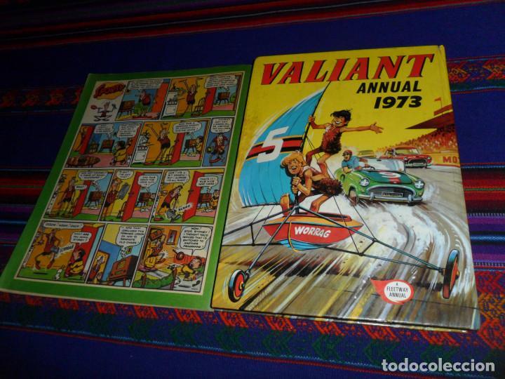 Cómics: VALIANT ANNUAL 1973 FLEETWAY HERMANOS WILD MYTEK ZARPA ACERO, VULCAN HOLIDAY SPECIAL IMPERIO TRIGAN. - Foto 6 - 134297694
