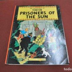 Cómics: THE ADVENTURES OF TINTIN PRISONERS OF THE SUN , EDICIONES DEL PRADO - COB. Lote 134817142