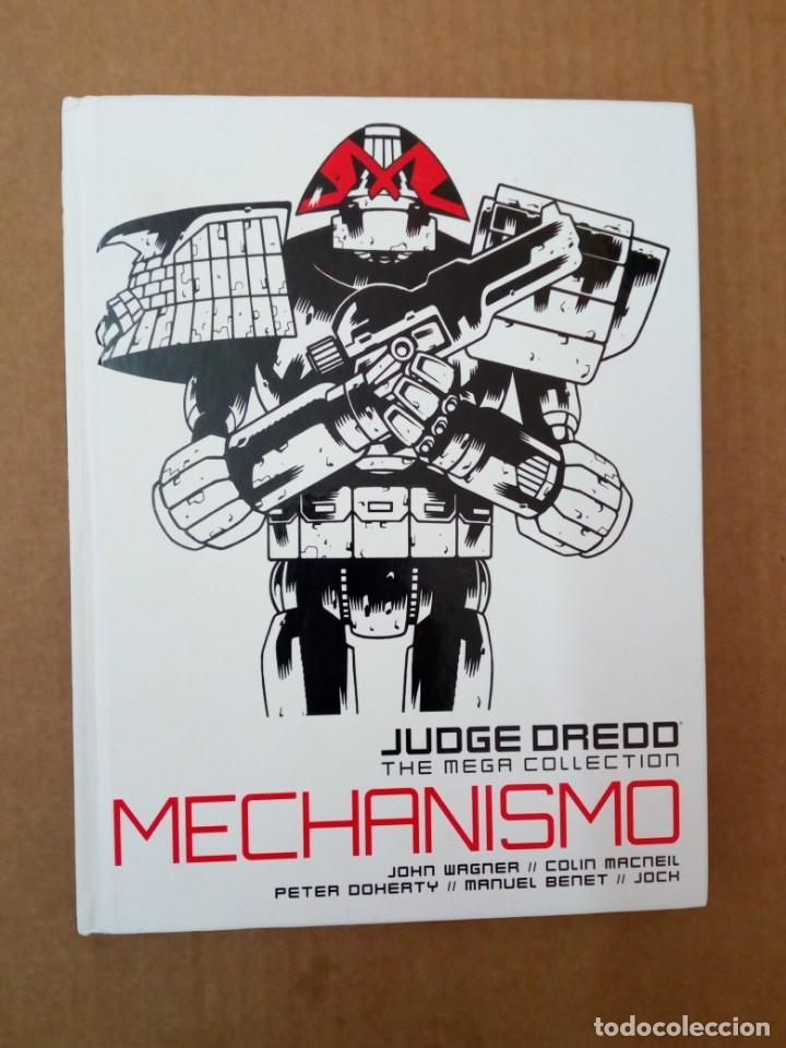 JUDGE DREDD, THE MEGA COLLECTION 24. MECHANISMO. WAGNER, MCNEIL, DOHERTY, BENET... (Tebeos y Comics - Comics Lengua Extranjera - Comics Europeos)