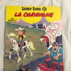 Cómics: LA CARAVANE LUCKY LUKE NÚMERO 24. Lote 135623747