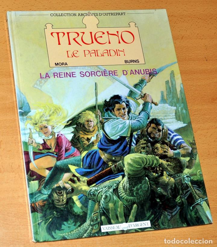 EL CAPITÁN TRUENO EN FRANCÉS - TAPA DURA - VICTOR MORA Y JOHN M. BURNS - EDICIÓN FRANCIA (Tebeos y Comics - Comics Lengua Extranjera - Comics Europeos)