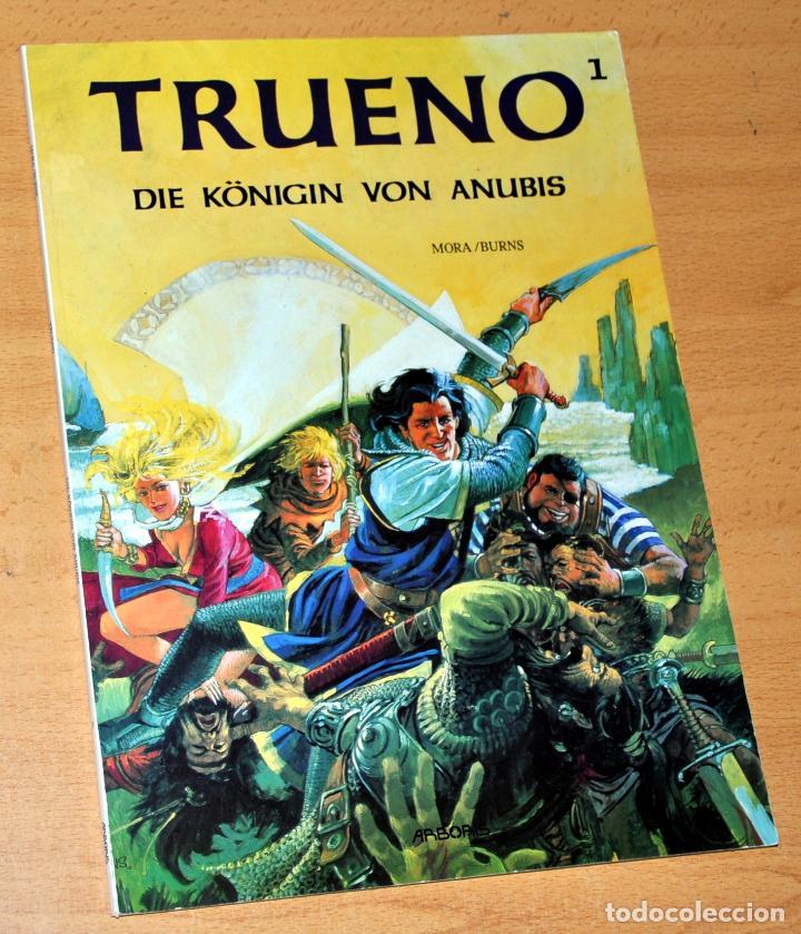 EL CAPITÁN TRUENO EN ALEMÁN - EDICIÓN EN TAPA BLANDA - TOMO 1 - AÑO 1992 (Tebeos y Comics - Comics Lengua Extranjera - Comics Europeos)