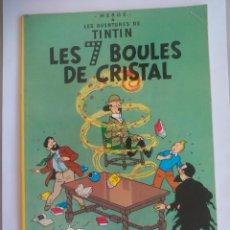 Cómics: TINTIN HERGÉ. LES 7 BOULES DE CRISTAL. EDICIONES DEL PRADO. 1973. Lote 135802214