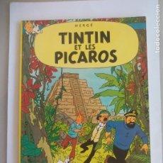 Cómics: TINTIN ET LES PICAROS. HERGÉ. EDICIONES DEL PRADO. 1976. Lote 135802594