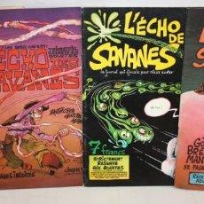 Cómics: L´HECHO DES SAVANES-Nº 3-4-5 Y 10.ED.DU FROMAGE-EROTICO FRANCES-1973.. Lote 136230494