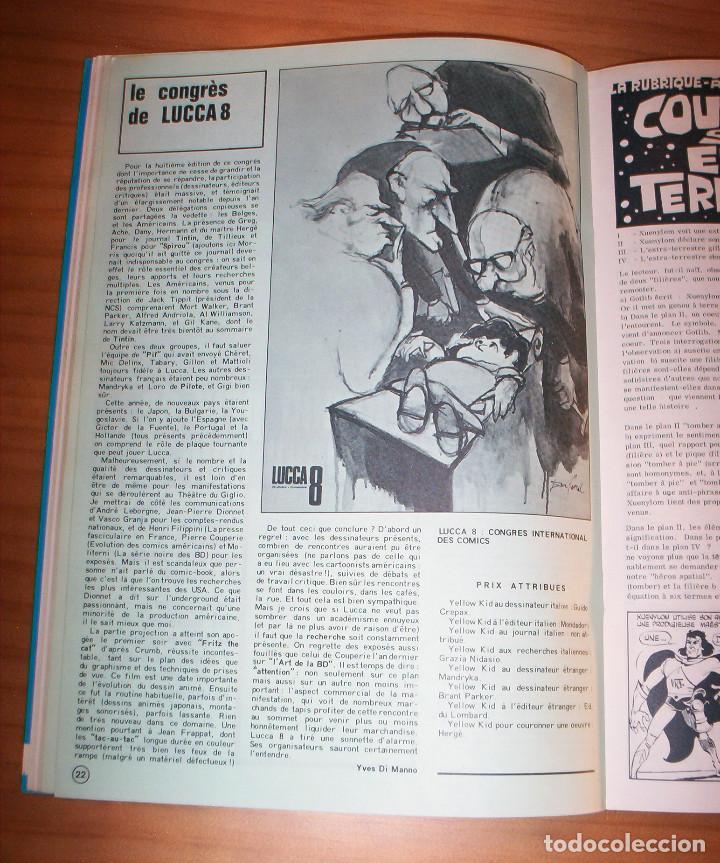 Cómics: SCHTROUMPF - LES CAHIERS DE LA BANDE DESSINÉE - NÚMERO 13 - AÑO 1973 - MUY BUEN ESTADO - Foto 7 - 136642018