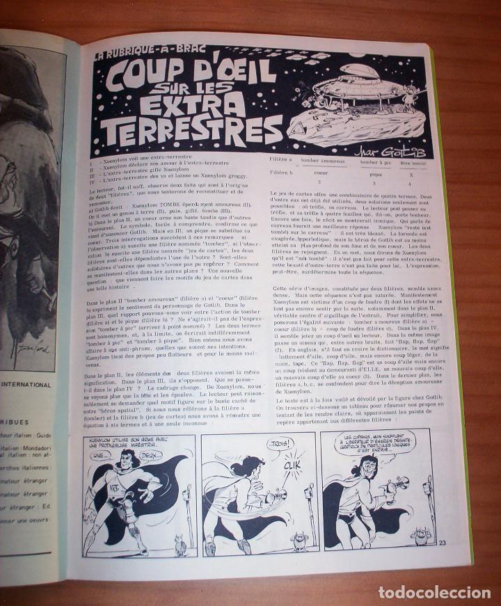 Cómics: SCHTROUMPF - LES CAHIERS DE LA BANDE DESSINÉE - NÚMERO 13 - AÑO 1973 - MUY BUEN ESTADO - Foto 8 - 136642018