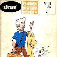 Cómics: LES CAHIERS DE LA BANDE DESSINÉE 14/15: SPECIAL HERGÉ (GLÉNAT, 1978). Lote 137296222