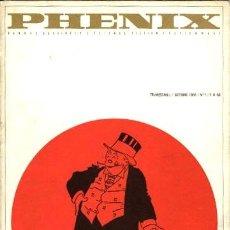 Cómics: PHENIX-1 (S.E.R.G., 1966). Lote 137297570