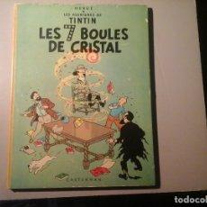 Cómics: HERGÉ. TINTIN. LES 7 BOULES DE CRISTAL. EDICIÓN BELGA (BELGIQUE) 1966. CASTERMAN. ILUSTRACIÓN.COMICS. Lote 138620330