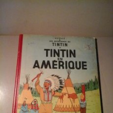 Cómics: HERGÉ. TINTIN EN AMERIQUE. EDICIÓN BELGA (BELGIQUE) 1958. CASTERMAN. ILUSTRACIÓN. COMICS VINTAGE.. Lote 138631802