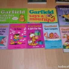 Cómics: LOTE DE 8 COMIC DE GARFIELD EN INGLES PUBLICADOS EN LOS AÑOS 80/90 EN INGLATERRA Y USA. Lote 140190658