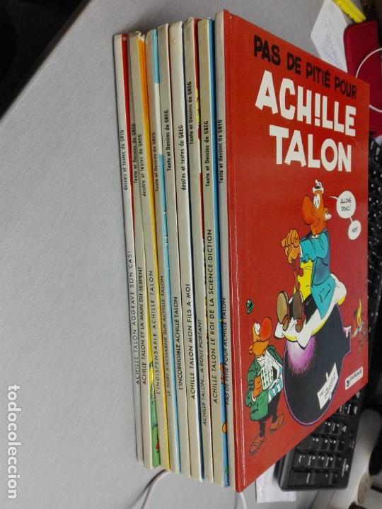 ACHILLE TALON / GREG / LOTE DE 9 TOMOS / DARGAUD EDITEUR - EN FRANCÉS (Tebeos y Comics - Comics Lengua Extranjera - Comics Europeos)