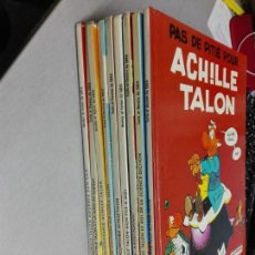 Cómics: ACHILLE TALON / GREG / LOTE DE 9 TOMOS / DARGAUD EDITEUR - EN FRANCÉS. Lote 140699914