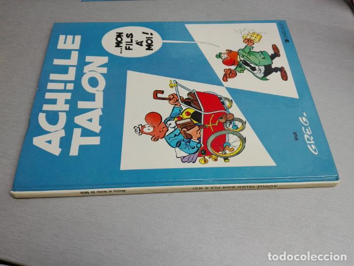 Cómics: ACHILLE TALON / GREG / LOTE DE 9 TOMOS / DARGAUD EDITEUR - EN FRANCÉS - Foto 5 - 140699914