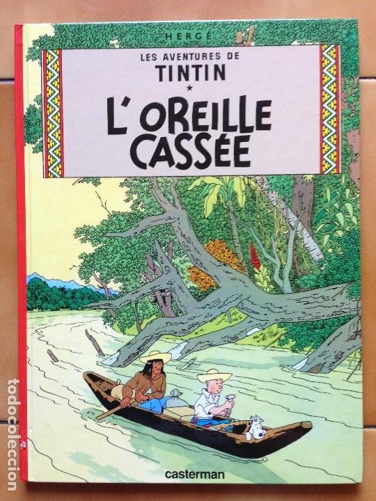 TINTIN L' OREILLE CASSEE HERGE RENEWED 1979 CASTERMAN (Tebeos y Comics - Comics Lengua Extranjera - Comics Europeos)