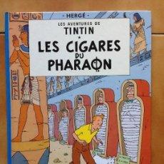 Cómics: TINTIN LES CIGARES DU PHARAON HERGE RENEWED 1983 CASTERMAN. Lote 142453190